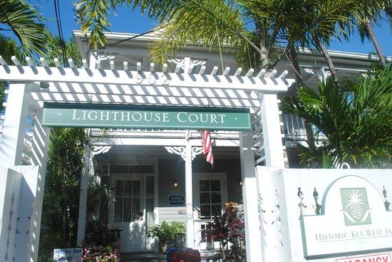 Lighthouse Court Hotel in Key West : ingresso