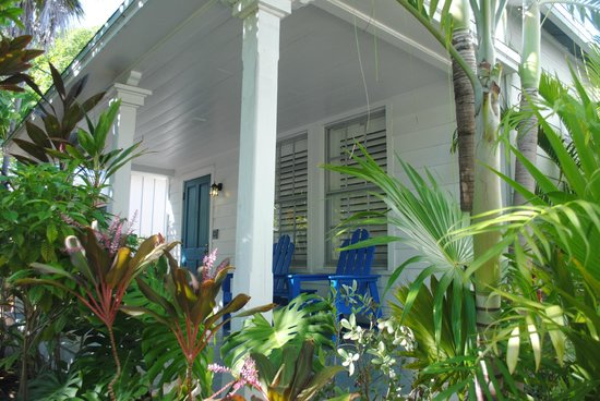 Lighthouse Court Hotel in Key West : Camera dall'esterno!