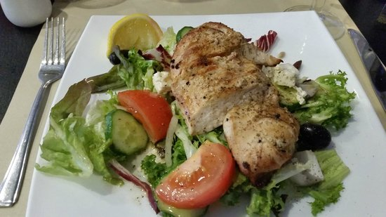 Othello's Greek: Chargrilled Chicken