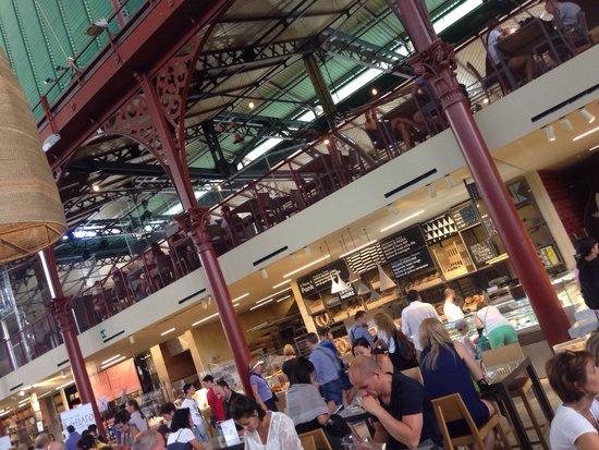 Mercato Centrale: 1er étage
