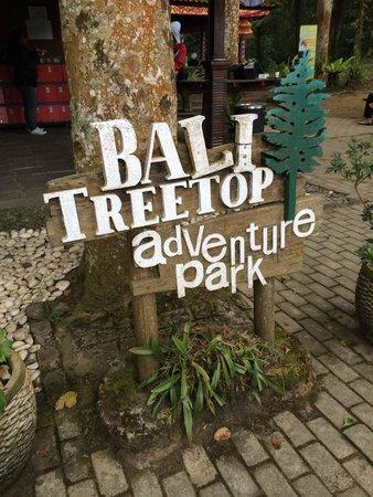 Bali Treetop Adventure Park: Entrance