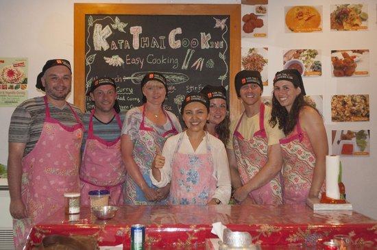 Kata Thai Cooking Class: Our class :)