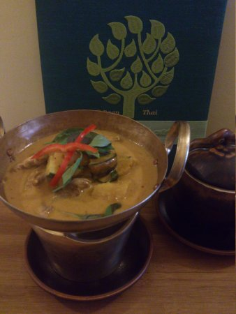 Baan Thai: Roast duck curry
