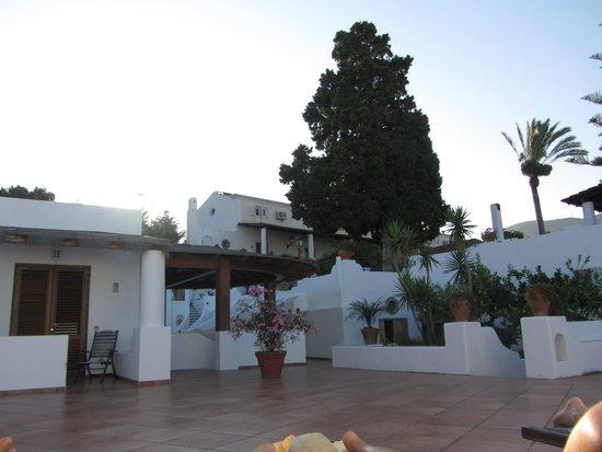 Gattopardo Park Hotel: Veranda per prendere il sole