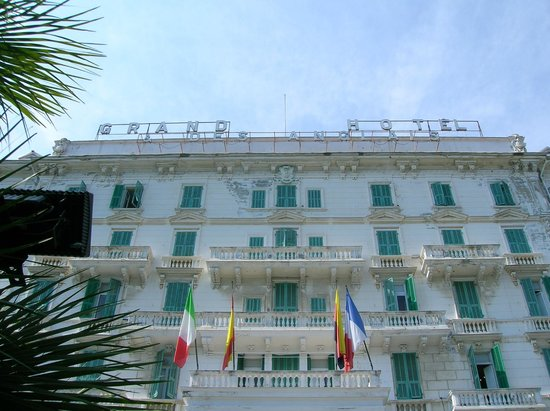Grand Hotel Des Anglais : tu arrivi è resti stupito da tanta bellezza
