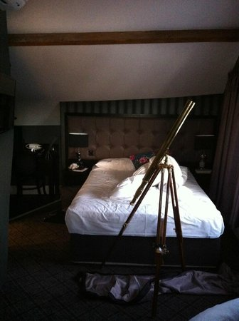 The Angel Hotel: lovely comfy bed