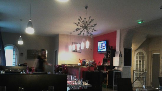 Restaurant Brasserie Corral Café : Salle - service impeccable !!!