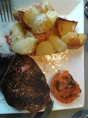 Restaurant Brasserie Corral Café : Pièce de bœuf