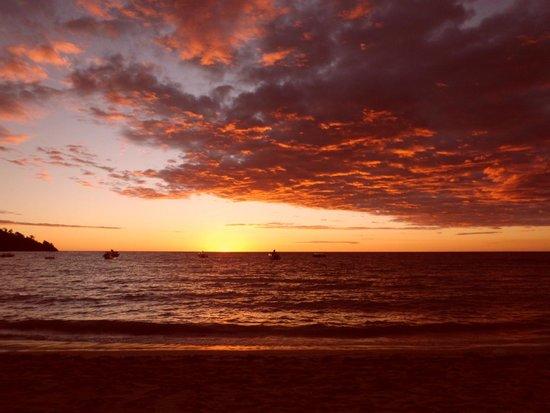 Andilana Beach Resort: Tramonto