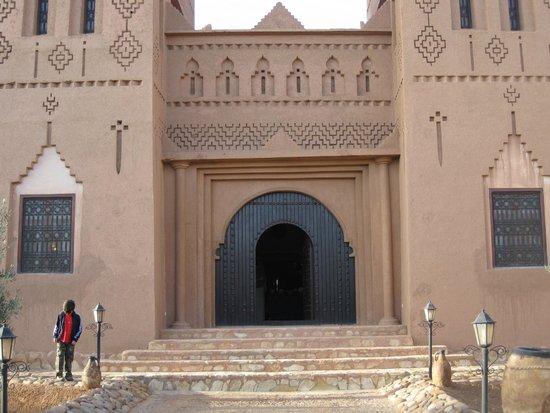 Hotel Kasbah Azalay: salle a manger climatisé
