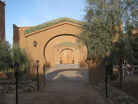 Hotel Kasbah Azalay: TERRASSE