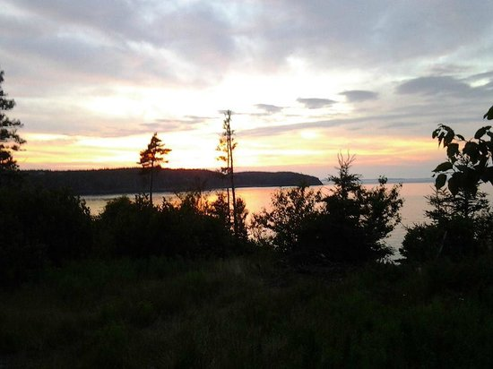 Landscape - North Head Campground & Park: Bay of Fundy from our Hole-in-the-Wall Campground site