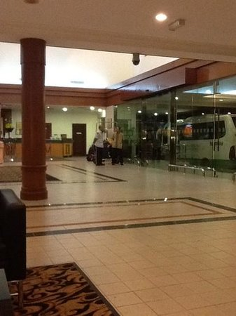 Concorde Inn Kuala Lumpur International Airport: Not much going on