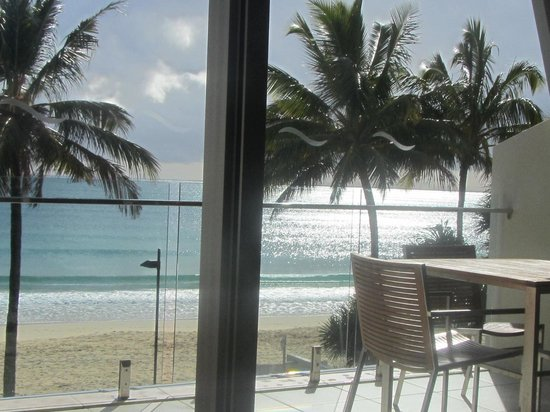 Fairshore Beachfront Apartments: the view