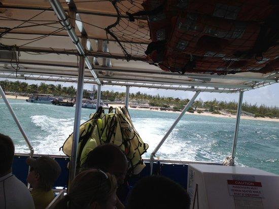 Gibbs Cay : On the boat
