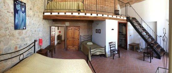 Camera da letto e soppalco - Foto di Residenza d\'Epoca Palazzo ...