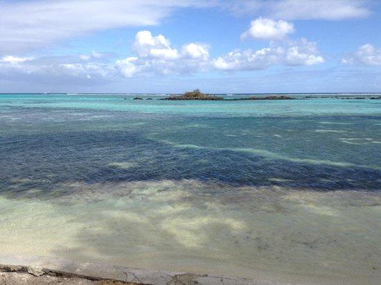 Club Med La Pointe aux Canonniers: Vue de la plage