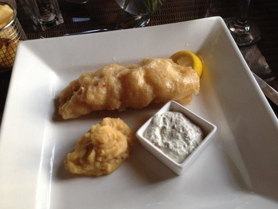 The Exeter Arms: Fantastic fish and chips