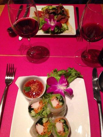Villa Thai: Entrées