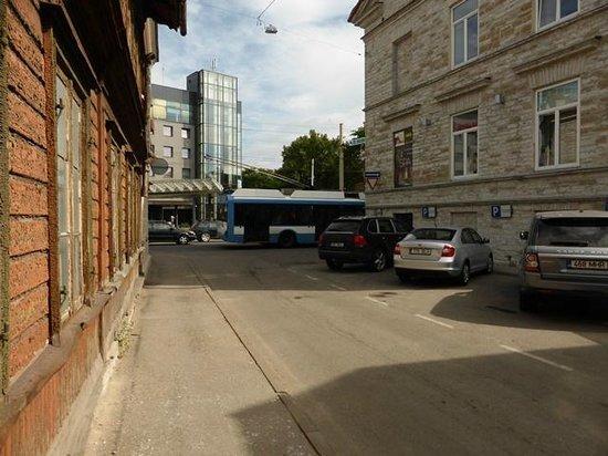 von Stackelberg Hotel Tallinn: Aussteigeort mit Taxi