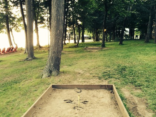 Covewood Lodge: Horseshoes anyone?