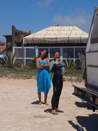 Paradis Plage Surf Yoga & Spa Resort : Surf Guiding