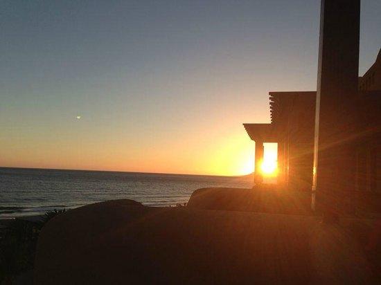 Paradis Plage Surf Yoga & Spa Resort : Sunset from Balcony
