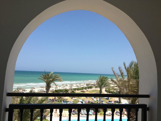 Al Jazira Beach & Spa : vue de la chambre 320