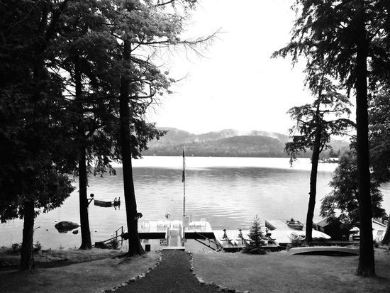 Covewood Lodge : View from the front porch.