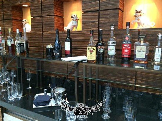 InterContinental Dusseldorf : concierge lounge dinner