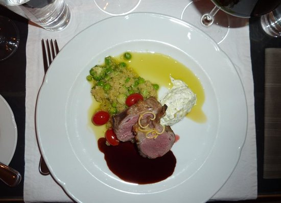 Restaurant Krebsegaarden: Lamb with couscous - small portion