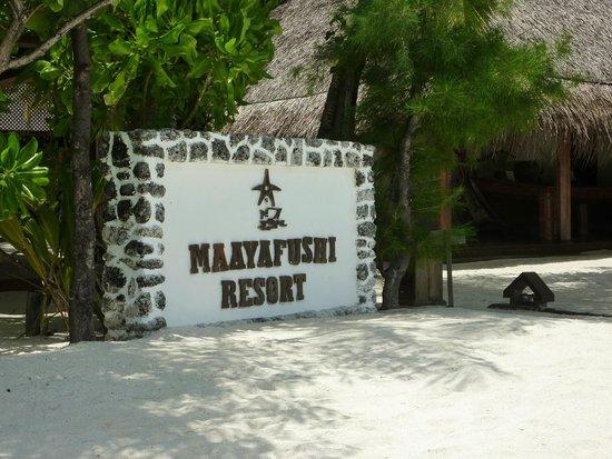 VOI Maayafushi Resort: reception