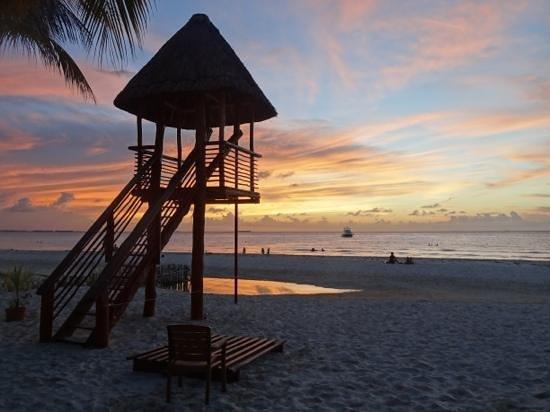 Playa Norte: Een heerlijk avond je op het strand na een dagje strand