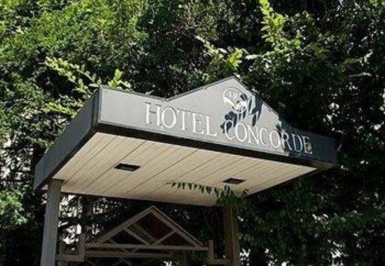 Hotel Concorde Fiera : Insegna