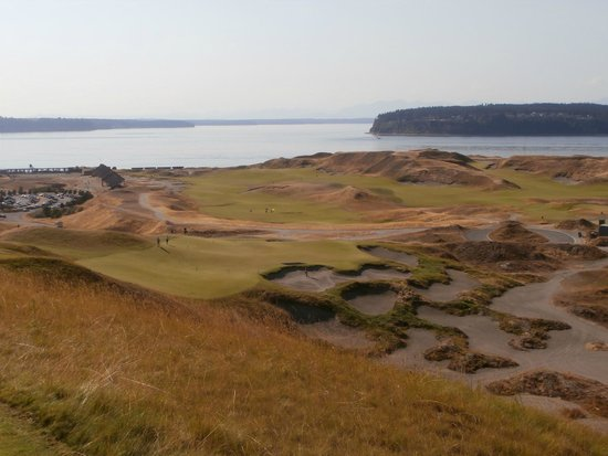 Cone of the holes at Chambers Bay