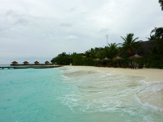 VOI Maayafushi Resort: spiaggia