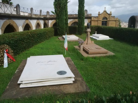 Basilica San Miniato al Monte: Monumenti funebri a personaggi illustri