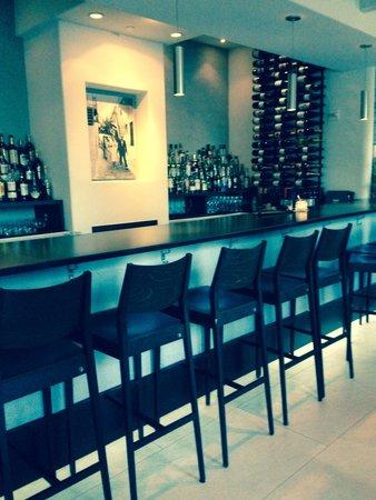 The bar at Nostod