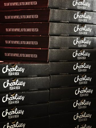 Charlies Pizza & Pasta Summerstrand: Take Away Pizza also available.