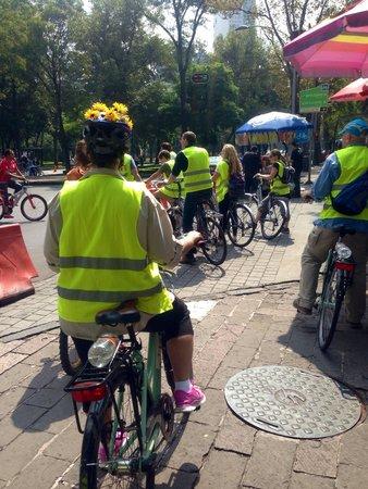 Mexico Bike Tour: Pasando por méxico