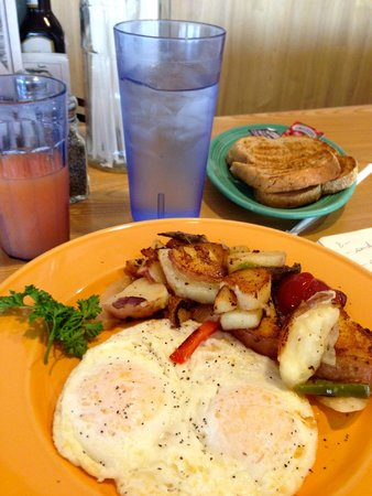 The Monroe Palm Springs: Delicious b'fast