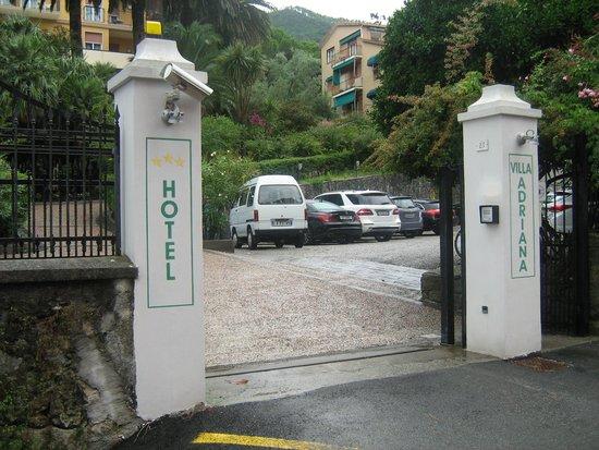 Hotel Villa Adriana : ingresso hotel