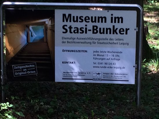Museum im Stasi-Bunker: Very limited opening hours ....!