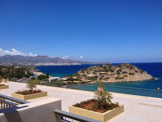 Blue Marine Resort & Spa: Vista da terrazzo stanza