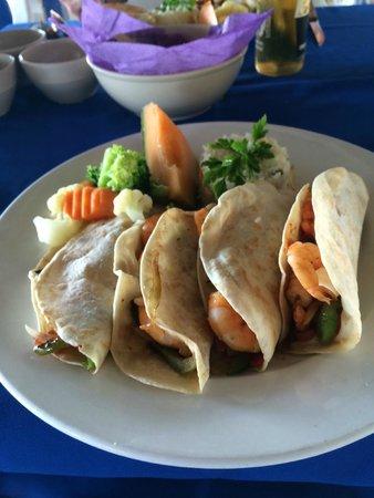 The Fat Boy Seafood : Shrimp Tacos