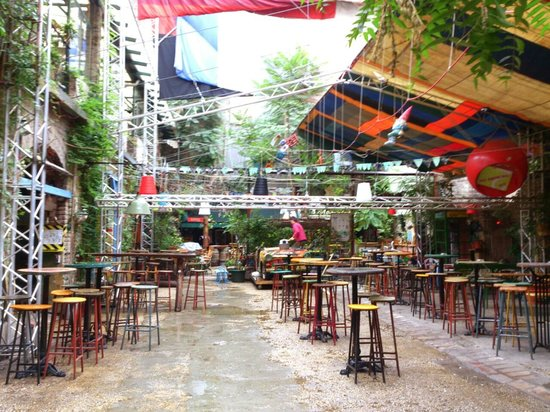 Budapest Szimpla Kert In The Daytime Picture Of