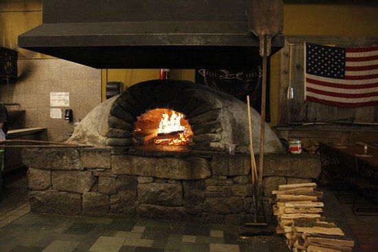 Flatbread Co: Wood stove