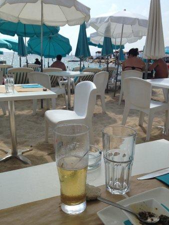 La haut plage : Plage privée