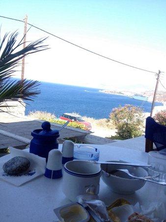Aegean Hotel: Vista colazione