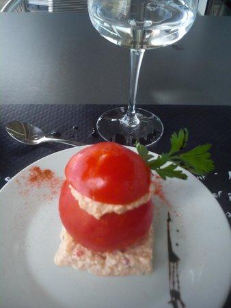 Bistrot de France : tomates antibaises - entrée